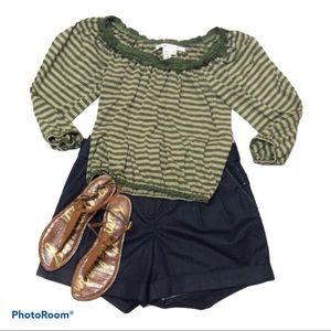 COPY - Max Studio striped blouse/top/shirt